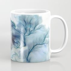 The Dreamer Mug by Okti @Society6 (The Pastel Shop, cute and dreamy soft colored products)