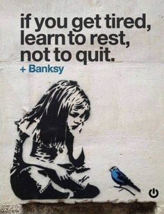 Bansky street art banksy thoughts 17 Ideas for 2019 Graffiti Art, Graffiti Pictures, Street Art Banksy, Graffiti Lettering, Motivacional Quotes, Life Quotes, Banksy Quotes, Rest Quotes, Soul Quotes