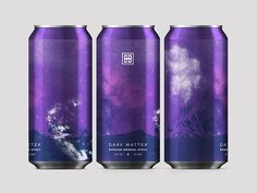 Dark Matter Russian Imperial Stout designed by Kyle Schmitz. the global community for designers and creative professionals. Food Packaging Design, Coffee Packaging, Bottle Packaging, Brand Packaging, Chocolate Packaging, Brewery Design, Beer Label Design, Business Card Design, Creative Business