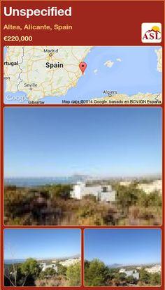 Unspecified in Altea, Alicante, Spain ►€220,000 #PropertyForSaleInSpain