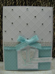 Stampin' Up! Card   by Jenny Engelke at Giddy Stamper: Newlywed Sparkle