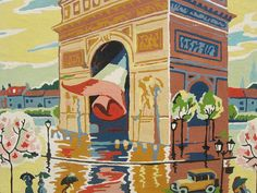Paris in springtime - even a painting of it is divine.