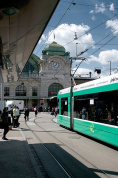 It was a nice experienced walking and riding the tram in this old city of Basel,Switzerland.