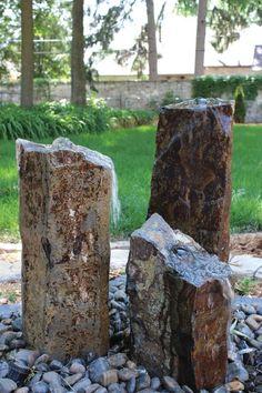 It's like a Stonehenge fountain! Cool! Triple Basalt Fountain
