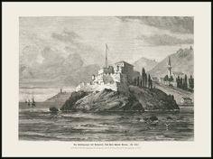 All sizes | 3789 Buch Die Befestigungen des Bosporus: Das Fort Porus Bornu Wood engraving ca 1875. Das Buch für Alle. | Flickr - Photo Sharing!