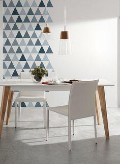 Modern Scandinavian dining table