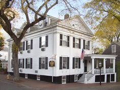 Roberts House Inn, Nantucket. MA. My room is on the 3rd floor with a private bath. I stay in the same room every trip,, standing reservation since 1996.The Best B&B on Nantucket--close to everything in the village and a short walk from the Ferry boardwalk.