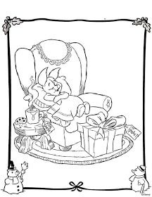 Disney Coloring Pages Winnie The Pooh S Friend Piglet Christmas Coloring Disney Coloring Sheets Disney Coloring Pages Christmas Coloring Books