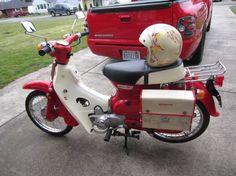 A Honda Passport / Cub!