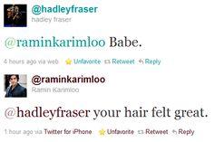 Hadley Fraser and Ramin Karimloo, Epic Bromance