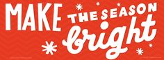 Make the Season Bright Christmas Facebook Timeline Cover #Cute #TimelineCover #Christmas