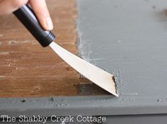 Remove Paint From Furniture Without Chemicals Step By Instructions