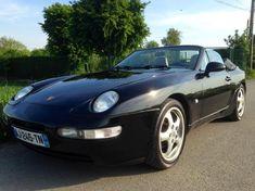 Preto Porsche 968 à venda
