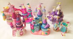 trend master castle starcastle lots of castles toy necklace locket polly pocket
