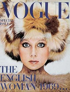 Vintage Vogue magazine covers - mylusciouslife.com - Vintage Vogue UK October…
