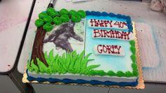 Yep a bigfoot cake