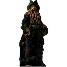 Davy Jones - Pirates Of The Carribean Stand-Up - OrientalTrading.com
