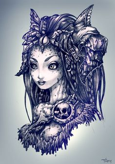 Tim Shumate Illustrations (Iwas playing DARKSIDERS the other day, and got. Dark Siders, Disney Princess Tattoo, Tattoo Disney, Photoshop, Art Graphique, Lovers Art, Art Drawings, Tribal Drawings, Pretty Drawings