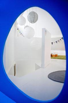 Bleu Klein Loft, Decoration, Bathtub, Studio, Bathroom, Ferdinand, Shades Of Blue, Cabin, Photography