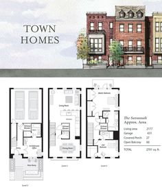 The-Savannah, Nashville Townhouses, Germantown - 4thandm.com