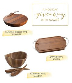 A Holiday Giveaway with Nambe: http://www.stylemepretty.com/living/2015/12/08/25-days-of-holiday-giveaways-nambe-entertaining-set/