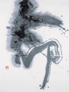 "Calligraphy 命 ""Life"" by Koji KAKINUMA, Japan"