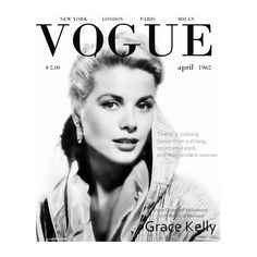 There's nothing sexier than a strong, smart, educated, and independent woman. Vogue - April 1962