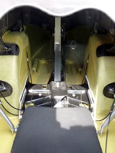 a look inside the WAW 291 velomobile