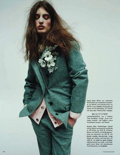 Vogue Germany August 2014 | Waleska Gorczevski + More by Greg Kadel