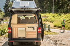 Solution d'aménagement pour campervans.