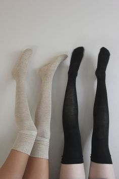 Knee Socks--these are great during winter with knee-high boots and dresses