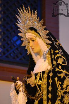 Los sones de la banda de música 'Nuestra Señora del Águila' de Alcalá de Guadaira, acompañarán musicalmente a Nuestra Señora en su Soledad. Por Francisco Javier González.