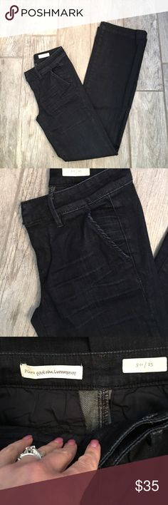 Pilcro wide leg trouser jeans Washed but never worn. Wide leg, trouser style jeans. Please ask for measurements. 🌟no trades🌟no outside transactions🌟 Anthropologie Jeans Flare & Wide Leg