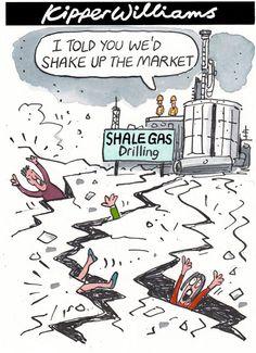 Climate #Cartoon : Kipper Williams on #fracking