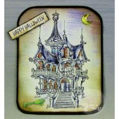 Galleries :: Spooky Halloween - Digital & Rubber Stamps for Every Scene - Make it Crafty