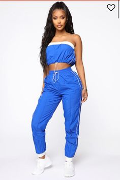 Edm Outfits, Sporty Outfits, Cute Casual Outfits, Summer Outfits, Fashion Outfits, Neon Bleu, Unique Clothes For Women, Fashion Nova Models, Professional Outfits