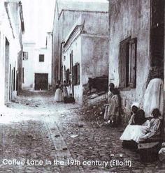 Fotos uit die verlede: Koffie Straat in die Maleise gebied in Kaapstad, rondom Cape Town South Africa, Slums, Most Beautiful Cities, My Land, Historical Pictures, African History, Afrikaans, Van, Vintage