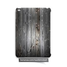 Black Wood Texture iPad Air Mini 2 3 4 Case Cover - Cases, Covers & Skins
