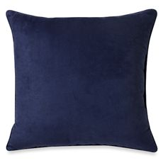 """Sueded 20"""" Toss Pillow"""