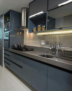 Boa noite amores!! Cozinha linda  Inspiração da noite  Se o projeto for seu marque aqui