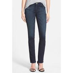 Paige Premium Denim 'Skyline' Straight Leg Jeans ($65) ❤ liked on Polyvore