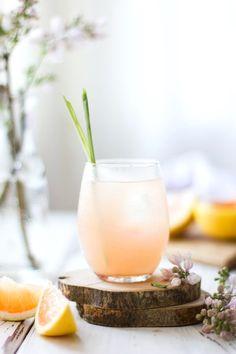 grapefruit, ginger & lemongrass sake