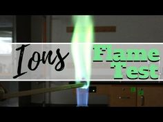 Bond with James: Flame Test of Ions High School Chemistry, Teaching Chemistry, Science Chemistry, Science Experiments, High Energy, Energy Level, Flame Test, Chemical Science, 8th Grade Science