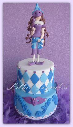 Carnival Cake  Cake by LillasCupcakes