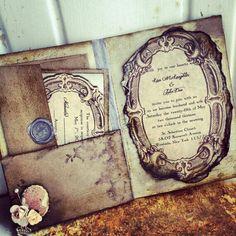 Gorgeous fairytale book invites