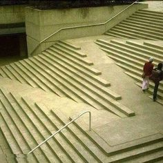 İnnovative stair design for handicapped people..