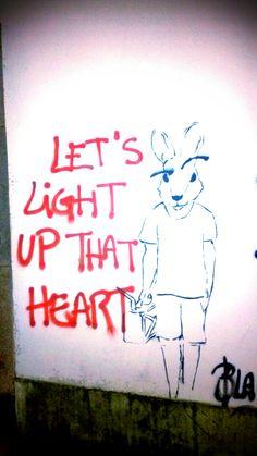 Let's light up that heart #ovar