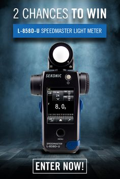 Eliminate Guesswork On Set! Know the right exposure every time. Enter to Win The World's Most Complete Light Meter for Cinematography and HD Video - Total Value = $599 each.