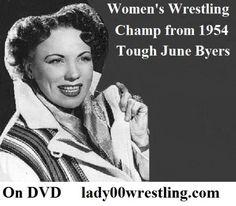 June Byers vs Lily Bitters www.lady00wrestling.com DVD