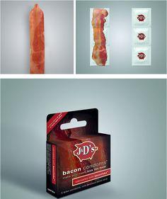 Bacon condoms. WTF?